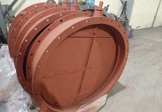 Клапан 19ПГВУ 292-80 Ду 900 мм