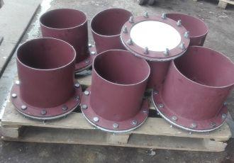 Клапана ПГВУ 091-80 Ду 350 мм.