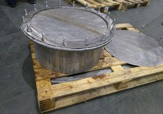 Клапана ОСТ 108.812.03-82 исп.2 Ду 500 мм. из нержавеющей стали