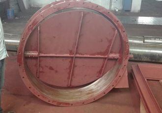 Клапан ПГВУ 292-80 Ду 1000 мм.