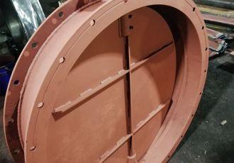 Клапан ПГВУ 292-80 Ду 1100 мм.