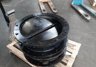 Клапана ПГВУ 292-80 Ду 600 мм.