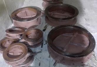 Клапана круглые  ПГВУ 292-80