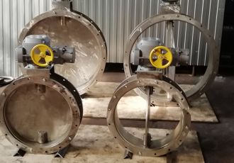 Клапана газоплотные ПГВУ 292-80 с приводами