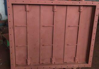 Клапан прямоугольный ПГВУ 297-80